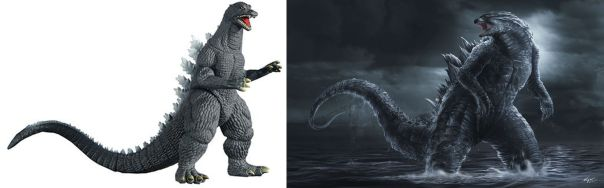 GodzillaComparison